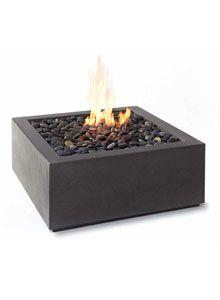 Paloform Bento Modern Square Outdoor Fire Pit
