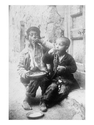 Two Neapolitan Children