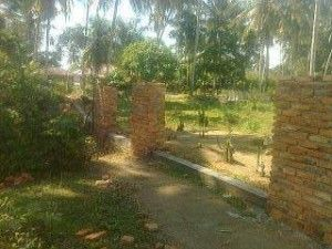 Media Online Borbor News: Proyek Pembangunan Pagar TPU di Kabupaten Madina D...