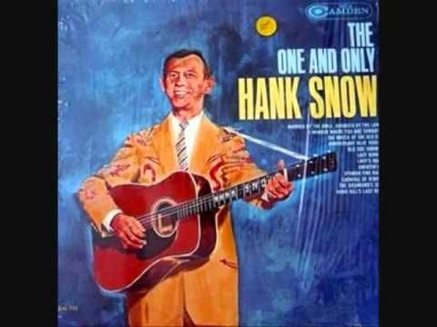 Hank Snow - Married by the Bible, Divorced by the Law