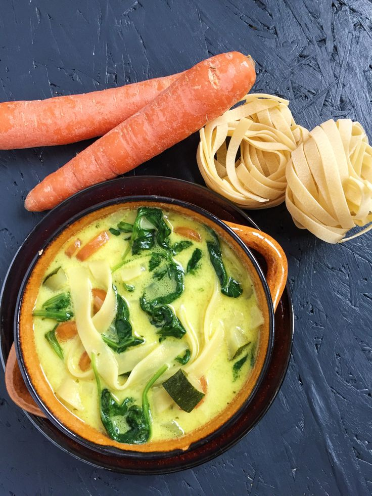 Easy Karotten-Kokos Suppe