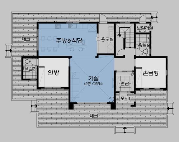 월간전원주택라이프 작은 집 집 평면도 주택평면도