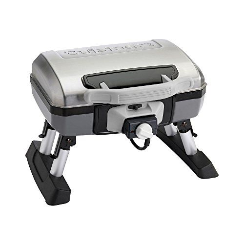Cuisinart Everyday Portable Electric Tabletop Gril >  Cuisinart's outdoor electric grill provides authentic grilling performance and flavor. Its small format fits easily on balconies and small patios making it great for places where propane or ...