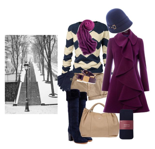 """its snowing"" by lila77 ❤ liked on Polyvore featuring Fat Face, American Eagle Outfitters, Laurence Dacade, Nardelli, Pied a Terre, Sperry and Elie Saab"
