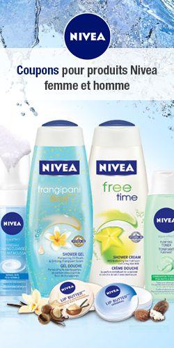 Nouveaux coupons Nivea. http://rienquedugratuit.ca/coupons/nouveaux-coupons-nivea-2/