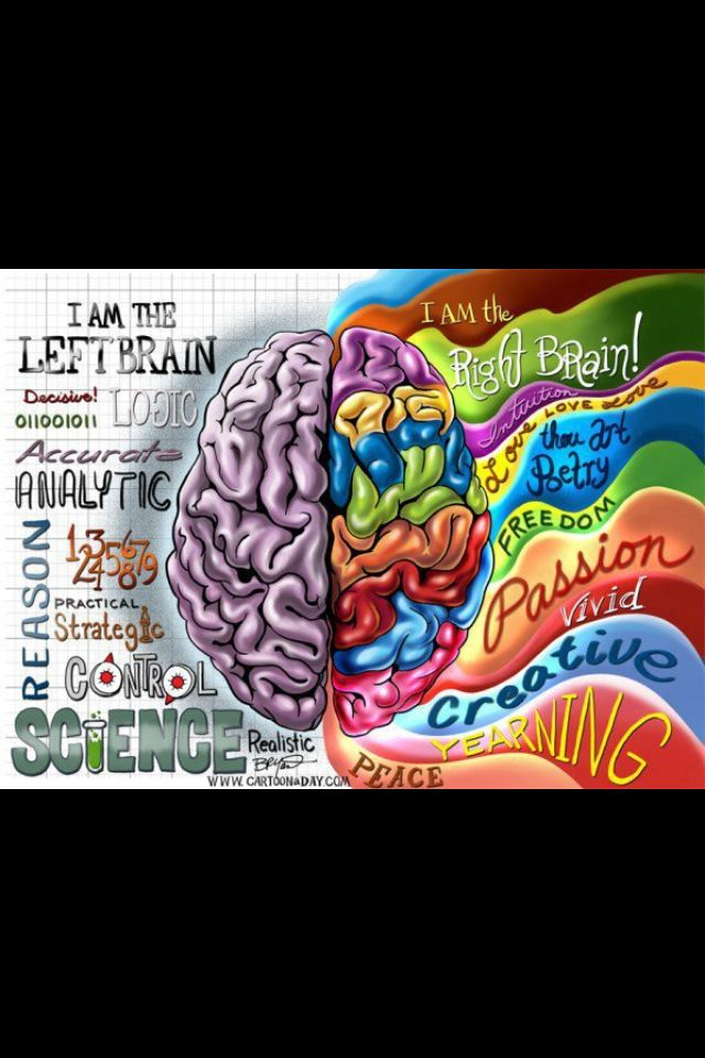 left and right brain research paper
