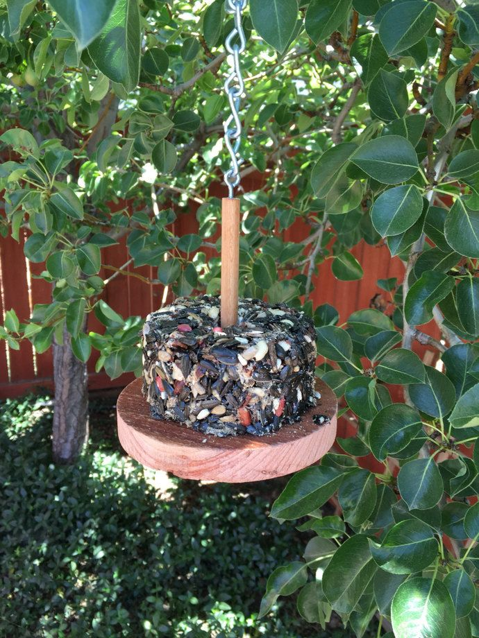Bird Feeder - Feeding Station - Garden Decor - Handmade Feeder - Natural Bird Feeder - Wooden Bird Feeder - Outdoor Decor - Stacker  feeder