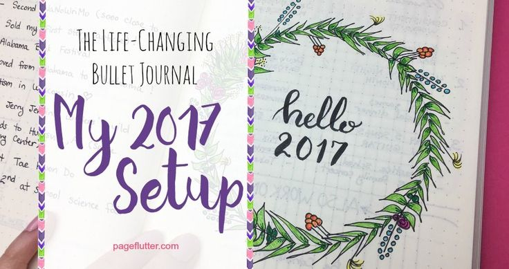 Have you set up your 2017 Bullet Journal yet? Here's a look at my setup, including life-changing pages to get your year off to the right start!