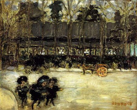 paris - the grands boulevards, 1898 (oil on canvas) - Google pretraživanje:
