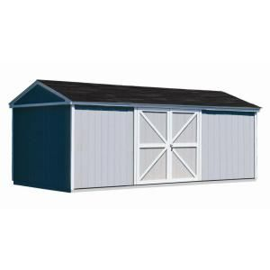 Handy Home Products Somerset 10 ft. x 18 ft. Wood Storage Building Kit 18416-1 at The Home Depot - Mobile