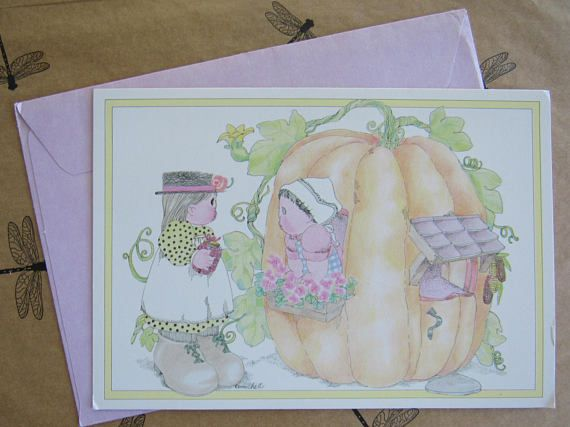 Vintage NEW HOME Michel & Company Greeting Card