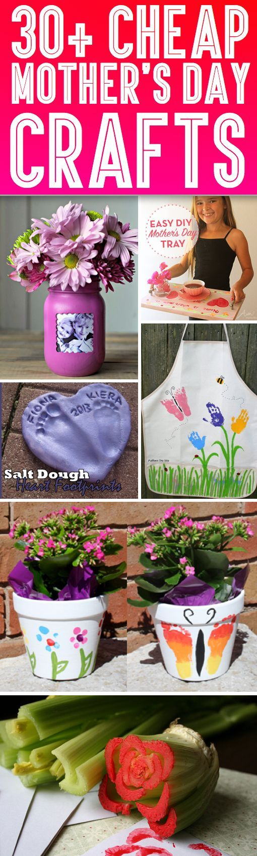 30+ Cheap Mother's Day Crafts That Speak For Themselves!