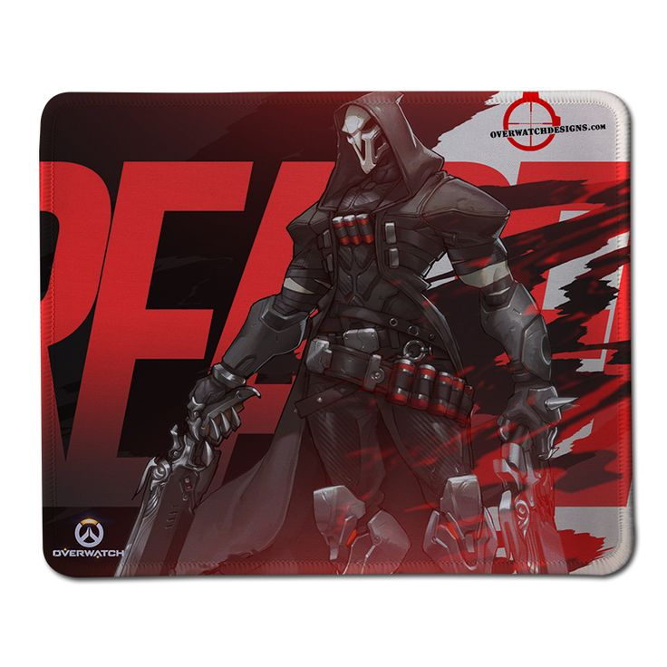 Overwatch Reaper Anime Mouse Pad High Quality Durable Large Gaming Anti-slip Mouse Pad Anime gaming mouse pad Rubber Mouse Mats