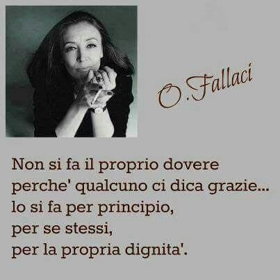 O. Fallaci.....