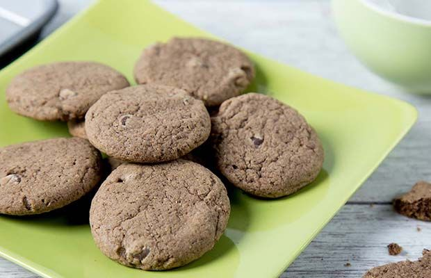 Flax Chocolate Chip Cookies