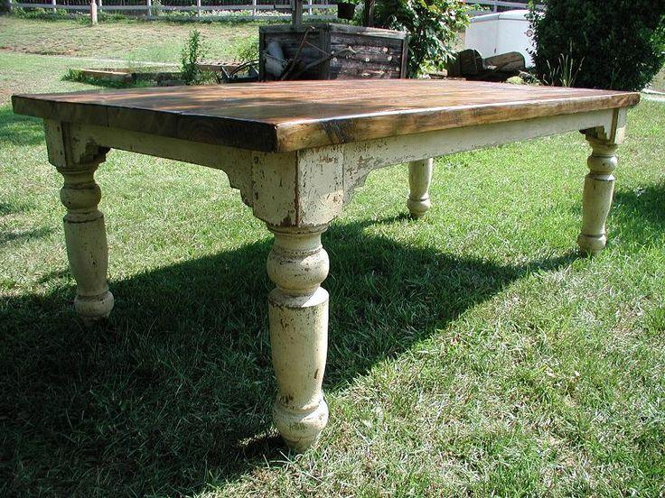 Love farm tables!
