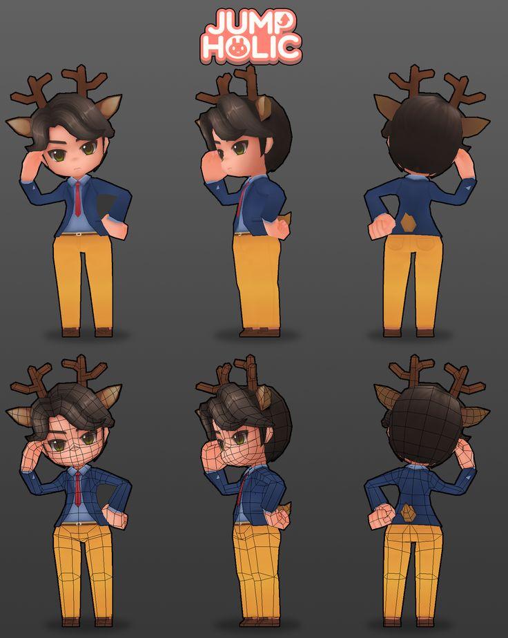 JumpHolic_DeerBoy modeling  GGumi
