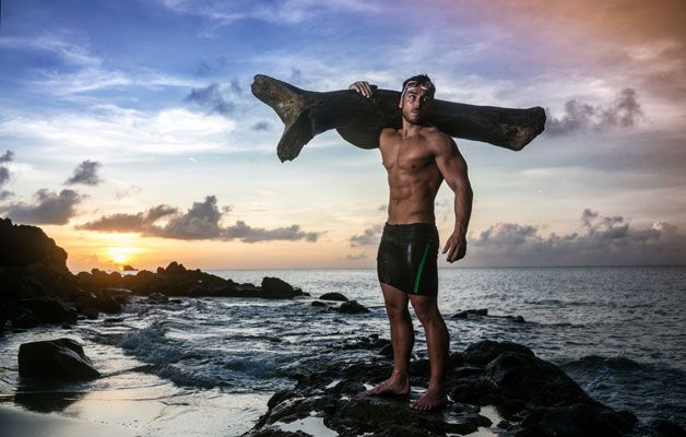 3 Things I Learned Swimming 100km with a 100lbs Tree