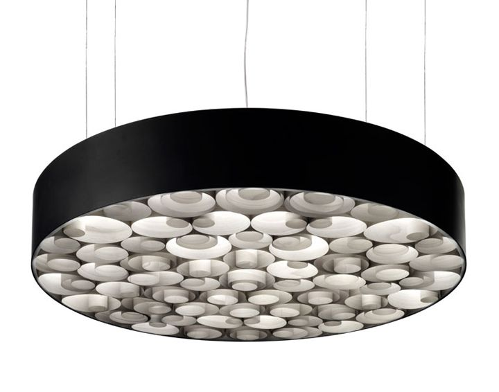 Spiro suspension lamp by Remedios Simon for LZF 02