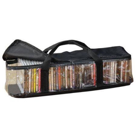 CD Storage Case with 2 Dividers
