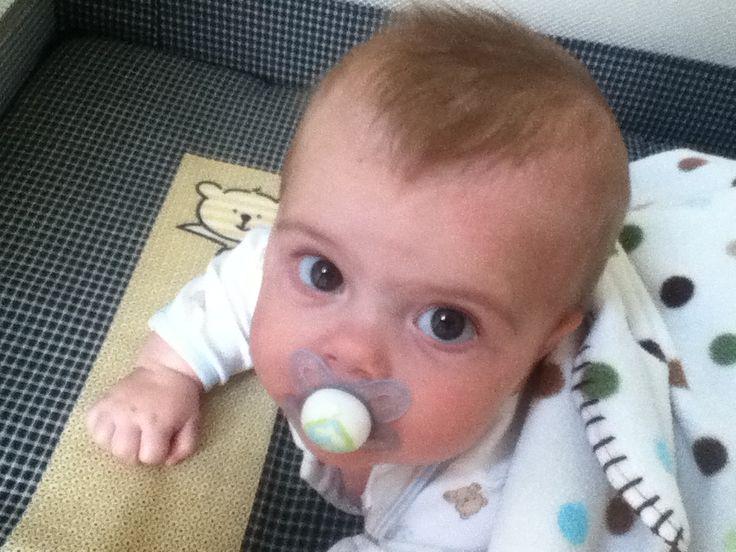 Baby binki! Ha