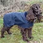 Cosipet Hunter Waxed Dog Coat - Navy Blue