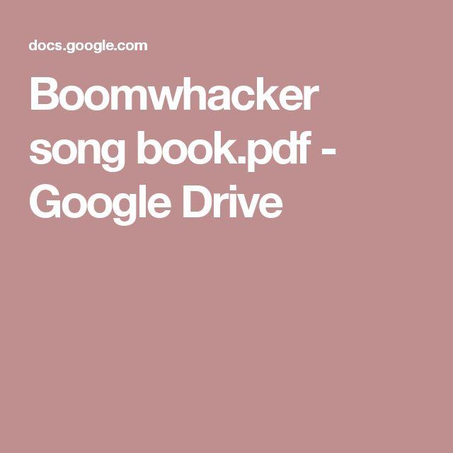Boomwhacker song book.pdf - Google Drive