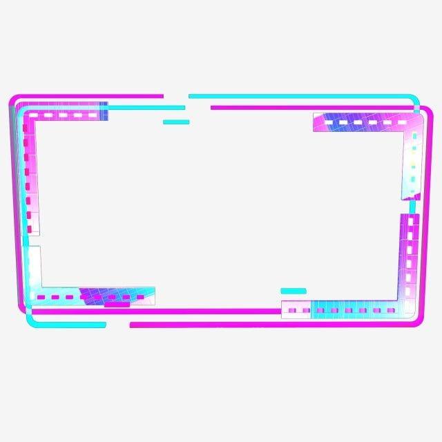 Gambar Sempadan Neon Berwarna Warni Berteknologi 25d Neon Neon Berwarna Warni Rangka Png Dan Psd Untuk Muat Turun Percuma Frame Border Design Software Art Overlays Picsart