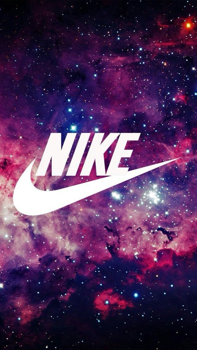 Super cute galaxy Nike wallpaper                                                                                                                                                                                 More