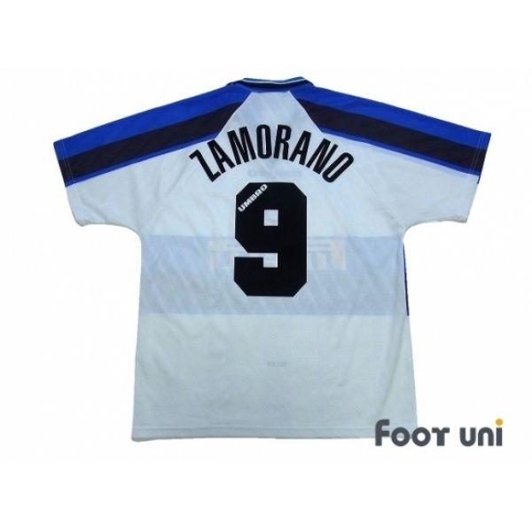 free shipping a0f6d 38f1a Inter Milan 1996-1997 Away Shirt #9 Zamorano #intermilan ...