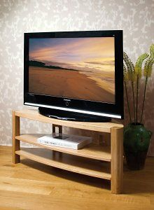 Stylish Oak Plasma TV Stands From Chris Sharp Cabinets