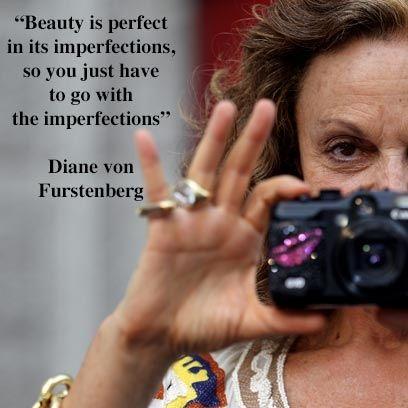 Diane von Furstenberg's guide to a fabulous life   Diane von Furstenberg Quotes   Health and Self - Red Online