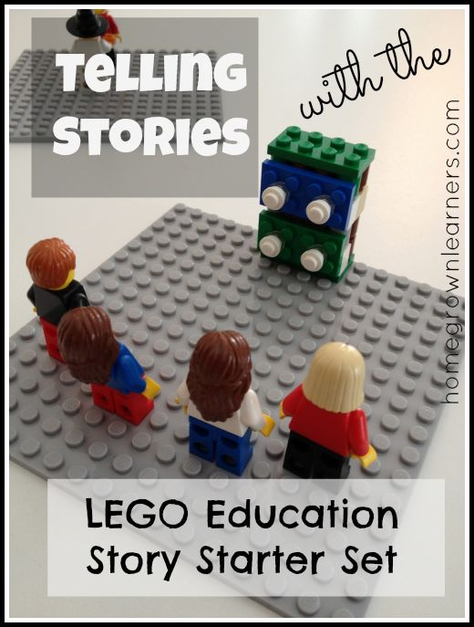 Homegrown Learners - Home - Telling Stories: LEGO Education StoryStarter Set