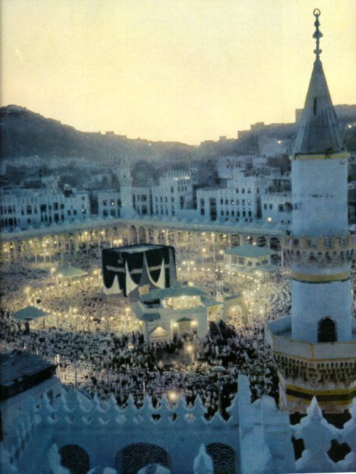 I will forever reblog this image. It is absolutely the most beautiful picture taken of the Ka'abah ~ another pinner; but yes, absolutely gorgeous vista subhanAllah!