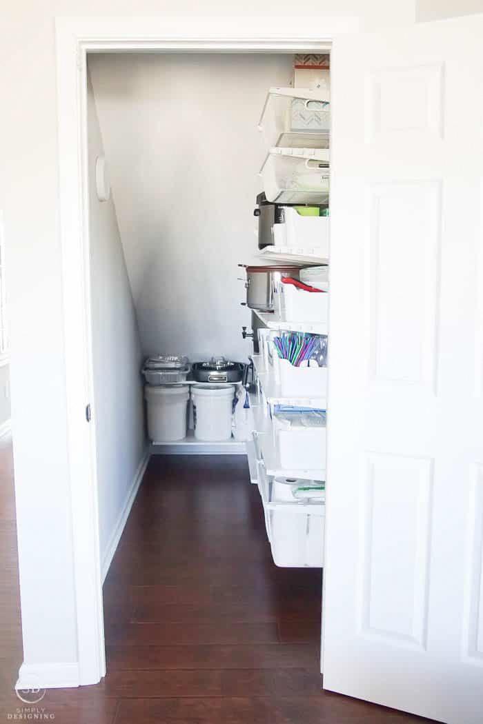 Organize Under Stairs Closet