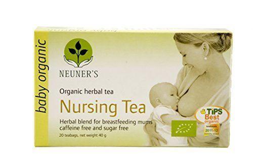 Neuners Organic Nursing Tea #breastfeeding #baby #tea #caffeinefree