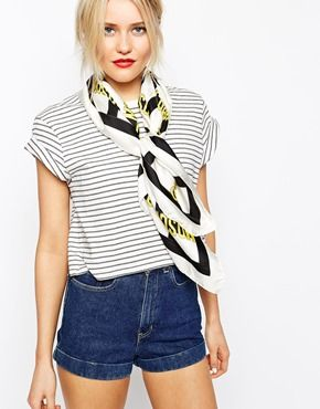 stripes / american apparel shorts