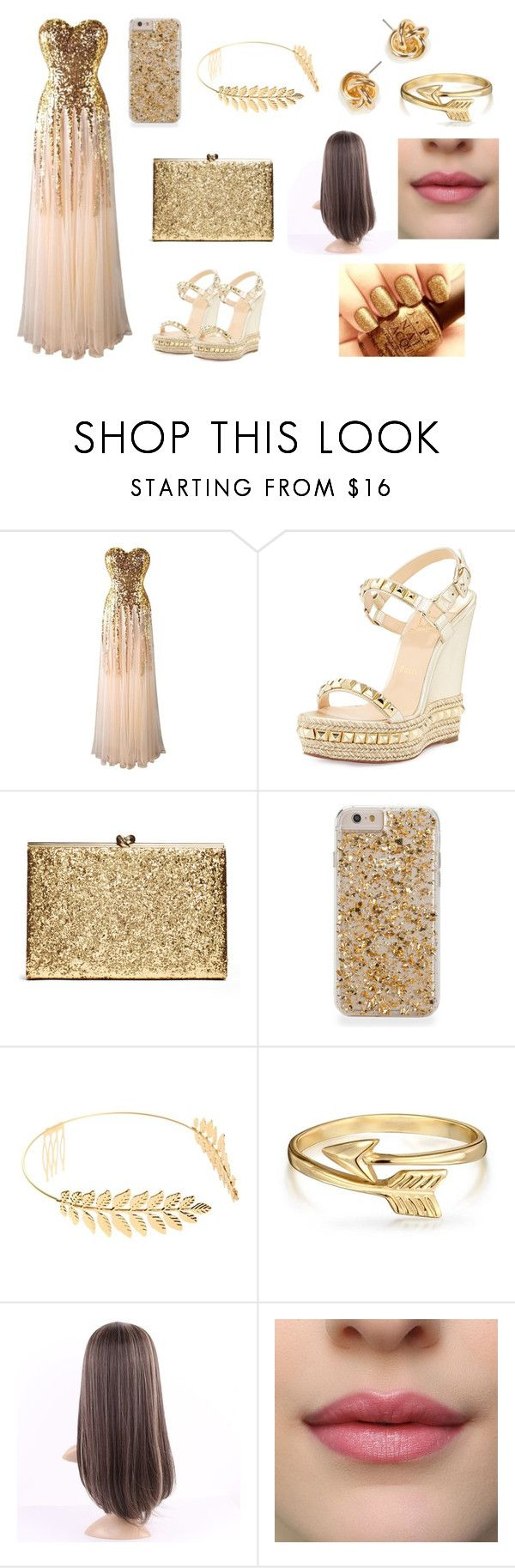"""""""qq"""" by aiste-mini on Polyvore featuring Christian Louboutin, Cara, Bling Jewelry, men's fashion and menswear"""