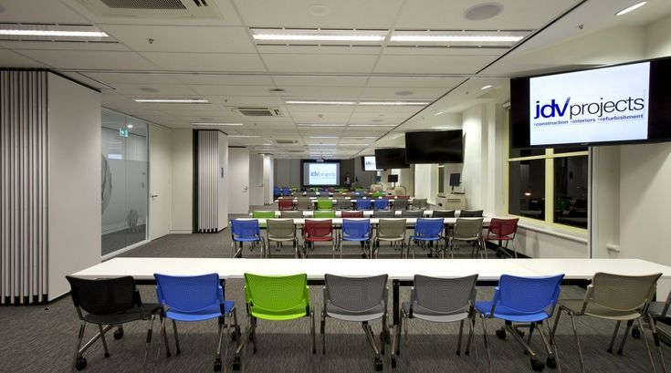 melbourne school college fitout Large Training Room