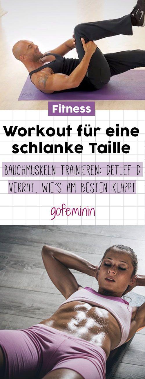 Workout für starke Bauchmuskeln und eine schlanke Taille: Detlef D zeigt euch, wie es am besten funktioniert!