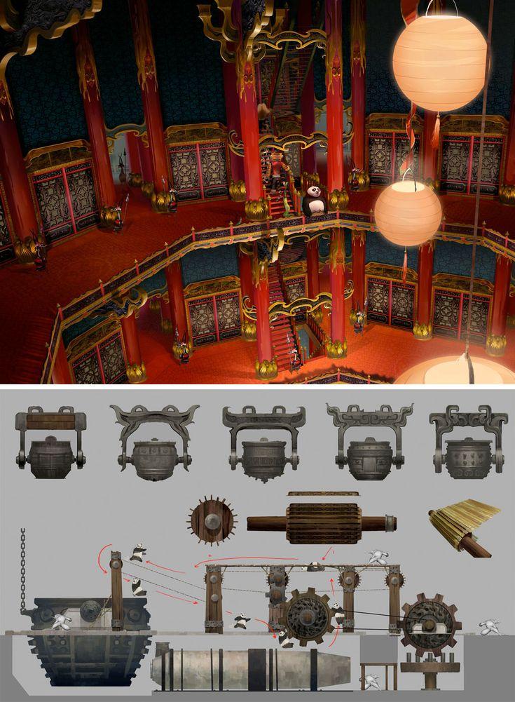 http://theconceptartblog.com/2011/05/31/kung-fu-panda-2-concept-arts/