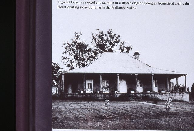 C918-0564 Laguna House, is an elegant Georgian homestead and is the oldest in the Wollombi Valley, undated by Cultural Collections, Universi...