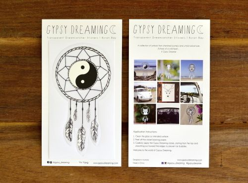 Gypsy Dreaming Dreamcatcher Sticker