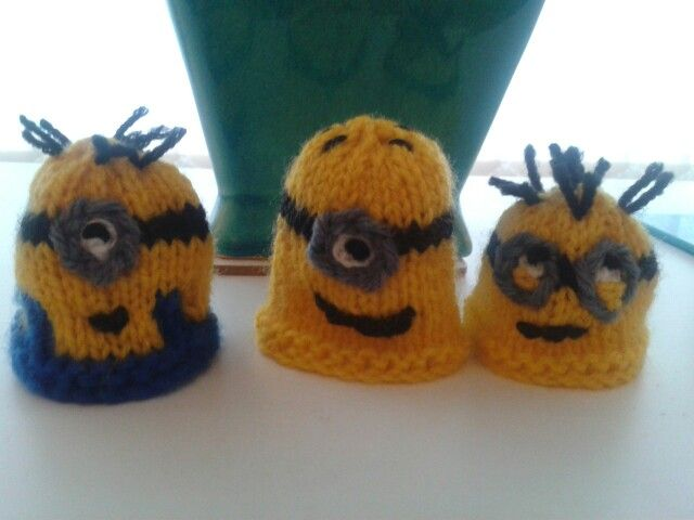 More minions for the big knit