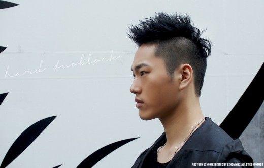 Latest Trendy Asian U0026 Korean Hairstyles For Men 2014