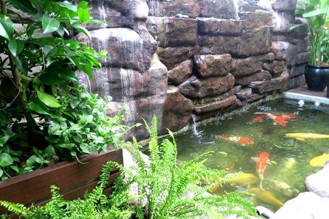 27 best oriental garden images on pinterest oriental for Koi pond design malaysia