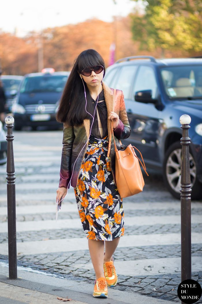 Susanna Lau Style Bubble in Proenza Schouler Spring 2012 by STYLEDUMONDE Street Style Fashion Blog
