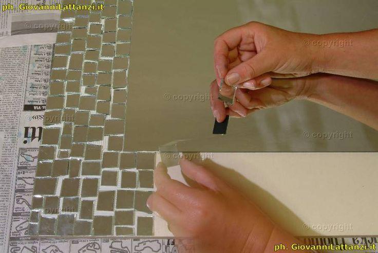 artigianato tipico, l'Aquila, lavorazione degli specchi