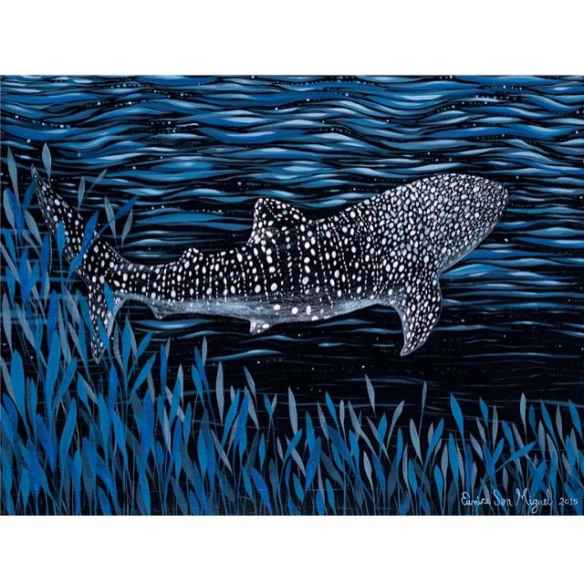 #whaleshark #eunicesanmiguel #painting