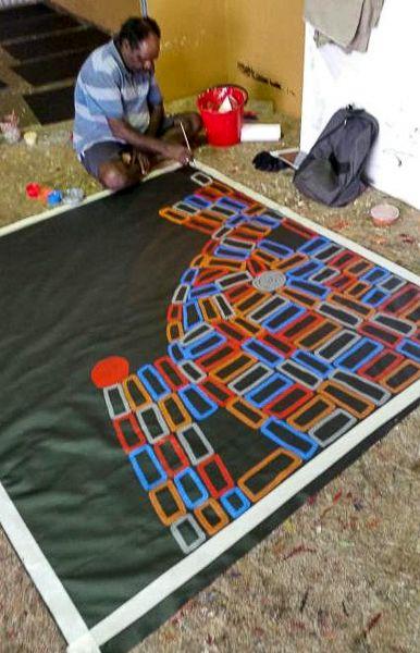 Our Studio | Mimi Art Gallery Walala Tjapaltjarri